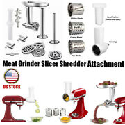 Oval Tray Meat Grinder Slicer Shredder Attachment For Kitchen Aid Stand Mixer Us