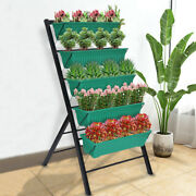 Vertical Raised Garden Bed Patio Plant Stand Home Tiered Plant Fun Elevated Veg