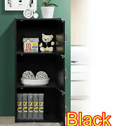 3 Door Storage Cabinet Office Organizer Bookcase Pantry Cupboard Shelves Colors