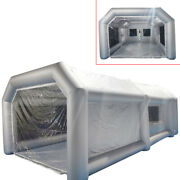 Inflatable Spray Booth Portable Paint Tent Painting House With Window Durable Us