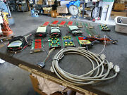 Lot Of 16 Keithley Modules 7012-s 7164 7066 7053 7057a And 4 7007 Ieee-488 Cables
