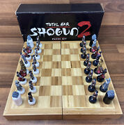 Total War Shogun 2 Total War Limited Edition Chess Set Complete Collectible
