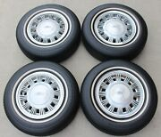 1985-1993 Ford Mustang Lx 14 Rubber Coated Steel Wheels Rims Used Oem