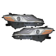 Headlights Set High Quality Capa Right Left Pair Fits 2019 Toyota Xse
