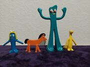 Gumby Pokey Goo And Prickle Lot Of 4 Figures
