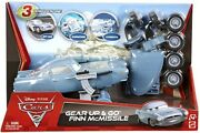 Finn Mcmissile Cars 2 - Disney Pixar Rare Unopened Gear Up And Go'