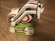 Anki Cozmo Robot Toy White Robot Only-no Cubes No Charger With Green Treads