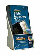 Tabbies 20 Pack With Display Rainbow Catholic Bible Indexing Tabs Old And New T...
