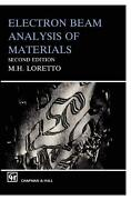 Electron Beam Analysis Of Materials By M.h. Loretto English Paperback Book Fre