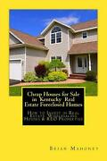 Cheap Houses For Sale In Kentucky Real Estate Foreclosed Homes How To Invest In