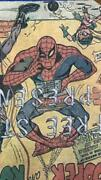 Final Super American Comic Spiderman Steel Objects Chair From Japan