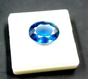 Aaaa+ Natural 27.70 Ct Certified Untreated/unheated Blue Apatite Gemstone Nm1431
