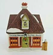 Dept 56 Dickens Village Thomas Kersey Coffee House 65072 Old Store Stock W/box