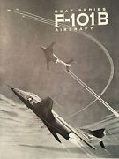 1961 Mcdonnell F-101b And F-101f Voodoo General Aircraft Maintenance Manual