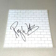 Roger Waters Signed Autographed The Wall Album Pink Floyd Beckett Bas Coa A49542