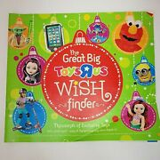 The Great Big Toys R Us Book Catalog 2013 Christmas Shaq 80 Pages