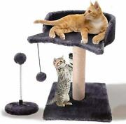 Cat Scratching Post For Small Kittywith Sisal Covered Climbing Activity Tower