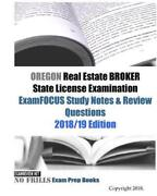 Oregon Real Estate Broker State License Examination Examfocus Study Notes And Re