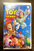 Vintage Disneyand039s Toy Story Vhs Cassette Tape Pixar 6703 Rare Collectible 1995