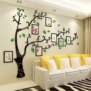 Wall Sticker Photo Frame Poster Acrylic Decals Kid House Bedroom Home Decoration