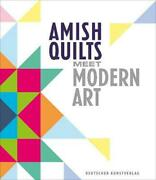 Amish Quilts Meet Modern Art German Hardcover Book Free Shipping