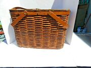 Vtg Hawkeye Refrigerated Picnic Basket Price And Shipping Reduced