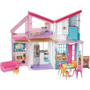 Barbie Estate Malibu House Playset With 25+ Themed Accessories Brand New Kid Toy