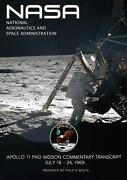 Apollo 11 Spacecraft Mission Commentary By Philip R. Wolfe English Paperback B