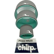 Chirp Plexus Wheel Set Of 3 Stretch Yoga Roller 12 10 6 Back Pain Relief New