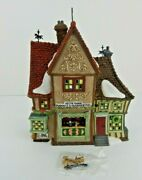 Dept 56 Dickens Village Nettie Quinn Puppets And Marionettes 58344 W/box