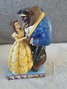 Disney Traditions Belle And The Beast Love Conquers All Ornament