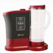 Lourdes High Concentration Hydrogen Water Generator Wine Red Meid In Japan Used