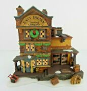 Dept 56 Dickens Village East Indies Trading Co 58302 W/box - No Sleeve