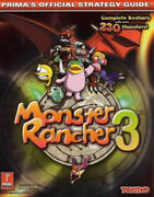 Monster Rancher 3 Prima's Official Strategy Guide, Scruffy Productions, New Boo