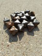 Cavalry Jacks Horse Caltrops Cast Iron Military Antiques Lot Of 18 Year Unknown