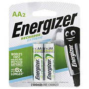 Energizer Rechargeable Batteries Aa Nh15 4 Pack Electronic Toy 5 Year Shelf Life