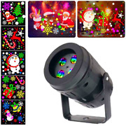 20 Patterns New Year Christmas Decoration Led Laser Projector Light Snowflake El