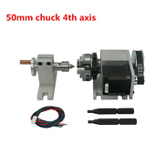 Tailstock And 4th Axis Rotary Axis With Chuck 50mm For Cnc Router Machine Europe
