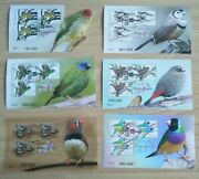 2018 Thailand World Stamp Expo Bird Miniature Sheets Set Day 1-6 Only 300 Made