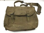Antique 1943 Kadin Us Army Ww2 M1936 Musette Field Bag Back Pack Haversack