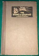 The Story Of Utopias Lewis Mumford Vintage Rare Book 1922 First Edition