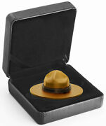 2020 Canada Classic Mountie Hat Shaped 1.5 Oz Silver Gilt Proof 25 Coin Gem