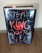 Signed 1st/1st Edition Doctor Sleep Stephen King - Water Damage