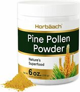 Pine Pollen Powder Extract | 6 Oz 170 G | Natureand039s Superfood | By Horbaach