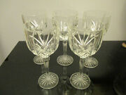 Set 5 Waterford Crystal Marquis Brookside 8 5/8 Wine Goblet Stems