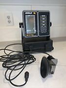 Eagle Lcg Z-6100 Fish Finder/recorder/depth With Cables Case And Transducer