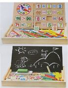 Mixed Lot Of Wood Toys - Each Toy Quantity Is 10 Pieces Each .