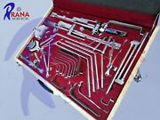 Thompson Retractor Complete Set Stainless Steel Orthopedic Surgical Instruments