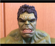 Hot Toys The Avengers Hulk 1/6 Scale Action Figure Movie Masters Used Free Ship