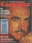 Esquire Magazine Germany 1989-09 Sean Connery